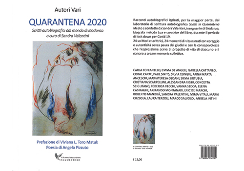 LIBRO QUARANTENA 2020 ACQUISTABILE BOX 500 350