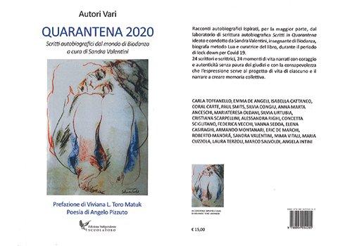 "Libro ""Quarantena 2020"" (acquistalo qui)"