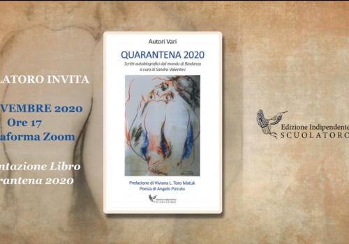 Presentazione del libro online (22/11)